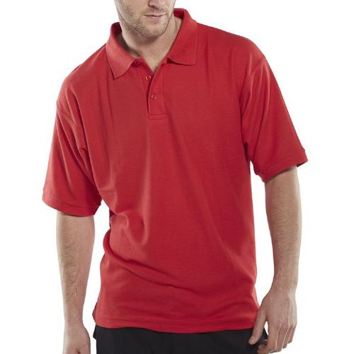 Click Red Polo Shirt